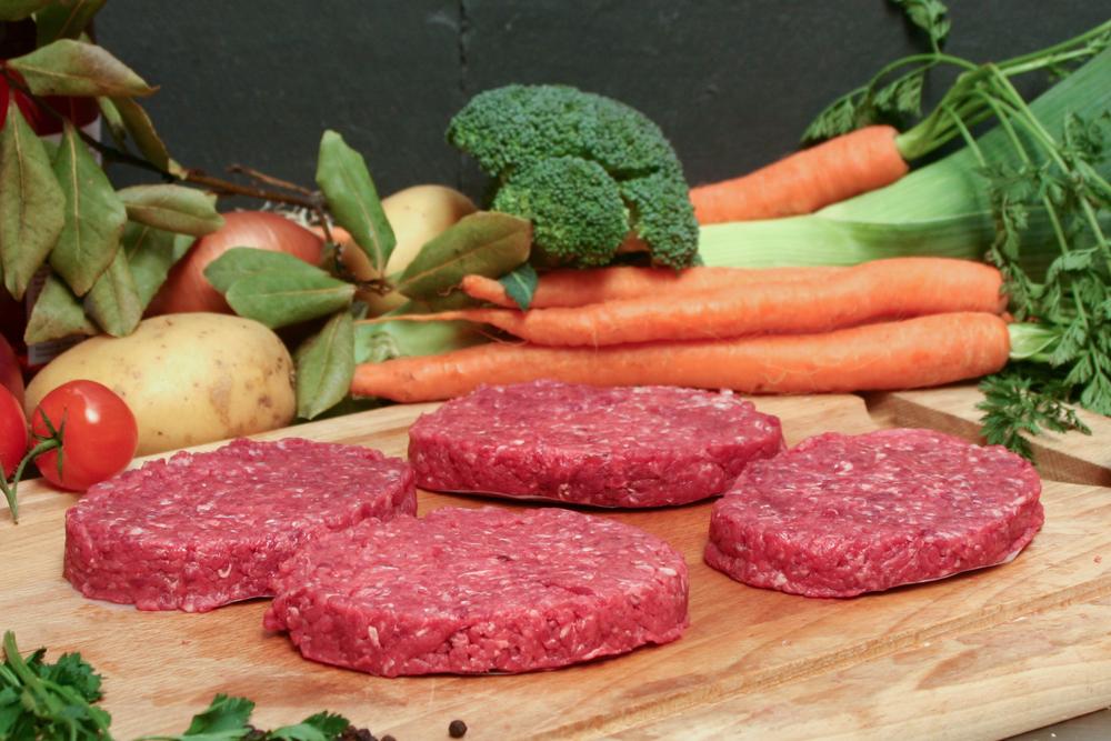 Steak haché de bœuf