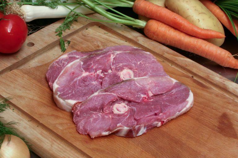 Tranche de gigot d'agneau